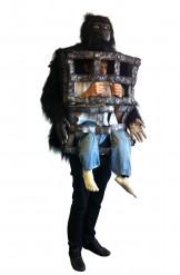 Déguisement gorille homme en cage