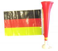 Trompette football avec drapeau Allemagne