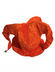 Bonnet fou du roi orange