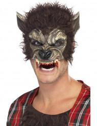 Demi masque loup garou adulte