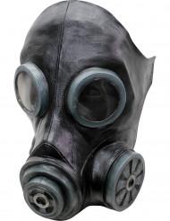 Masque à gaz noir adulte