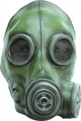Masque à gaz vert adulte