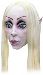 Masque elfe blonde femme