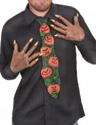 Cravate citrouille