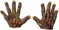 Mains zombie adulte halloween