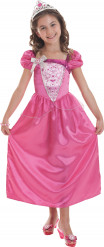 Déguisement Barbie™ princesse rose fille