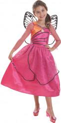 Déguisement Barbie™ Princesse Mariposa luxe fille
