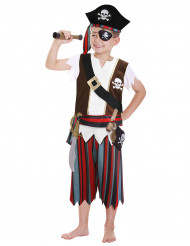 Déguisement Pirate garçon tête de mort