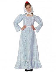 Déguisement madrilène bleu fille