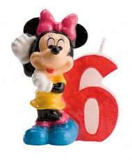 Bougie numéro 6 Minnie™