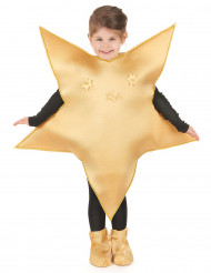 Déguisement étoile dorée enfant