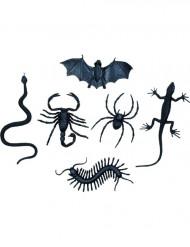 6 Décorations petites créatures Halloween