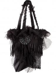 Sac noir araignées Halloween