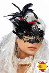 Masque à plumes Adulte