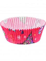 20 Moules à cupcake Noël