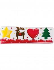 Contour décoratif à tarte Noël