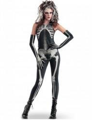 Déguisement squelette sexy femme