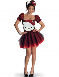 Déguisement Hello Kitty™ rouge adulte