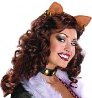 Perruque Clawdeen Wolf Monster High™ femme