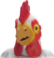Masque coq adulte