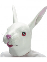 Masque lapin en latex adulte