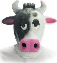 Masque vache adulte 100% latex