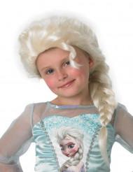 Perruque Elsa La Reine des neiges™ fille