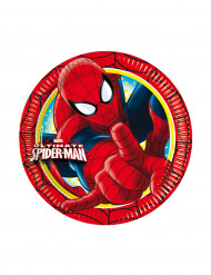 8 Assiettes Spiderman™ 20cm
