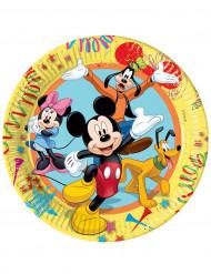 Assiettes Mickey carnaval 23cm