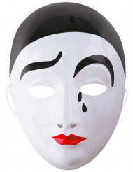Masque Pierrot adulte