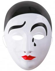Masque Pierrot adulte
