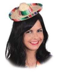 Mini sombrero adulte