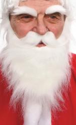 Barbe, moustache et sourcils blancs adulte