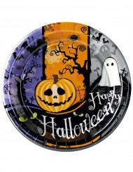 10 Assiettes Halloween