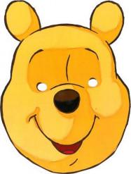 Masque en carton Winnie l
