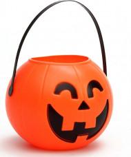 Seau citrouille Halloween