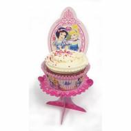 4 Mini-supports pour cupcakes Princesses Disney™