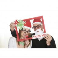 Kit photobooth kiss me Noël