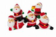5 décorations gâteau Père Noël
