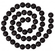 Guirlande boules pailletées noir
