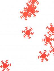 Flocons rouges 45 g Noël