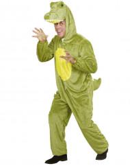 Déguisement crocodile adulte