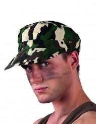 Casquette camouflage militaire adulte