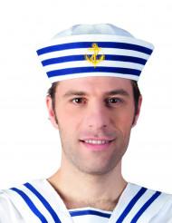 Chapeau marin rayé adulte