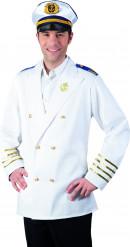 Veste capitaine marin adulte