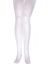 Collants blancs adulte