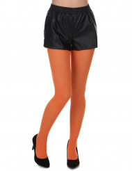 Collants orange adulte