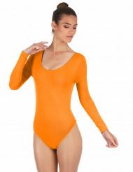 Body orange fluo adulte