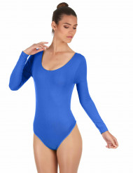 Body bleu adulte
