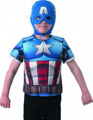 Plastron Captain America™ Avengers Assemble™ enfant